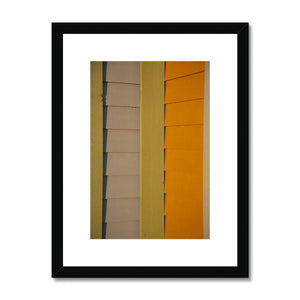 Swedish Beach Huts_4 Framed & Mounted Print