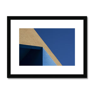 Santa Fe Adobe_10 Framed & Mounted Print