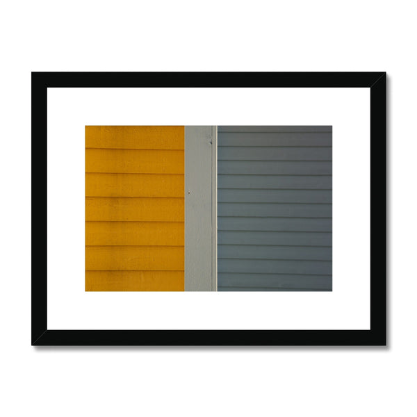 Swedish Beach Huts_2 Framed & Mounted Print