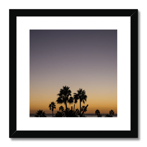 Los Angeles Palms_3 Framed & Mounted Print