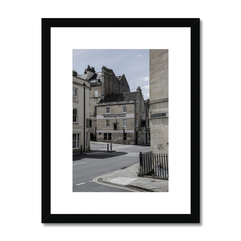 Bath Under Covid_9 Framed & Mounted Print