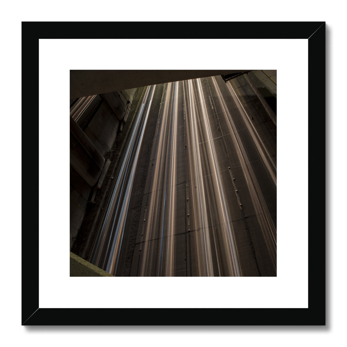 Light Streams_2 Framed & Mounted Print