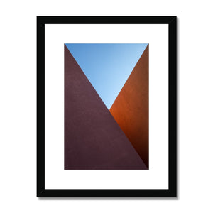 Santa Fe Adobe_3 Framed & Mounted Print