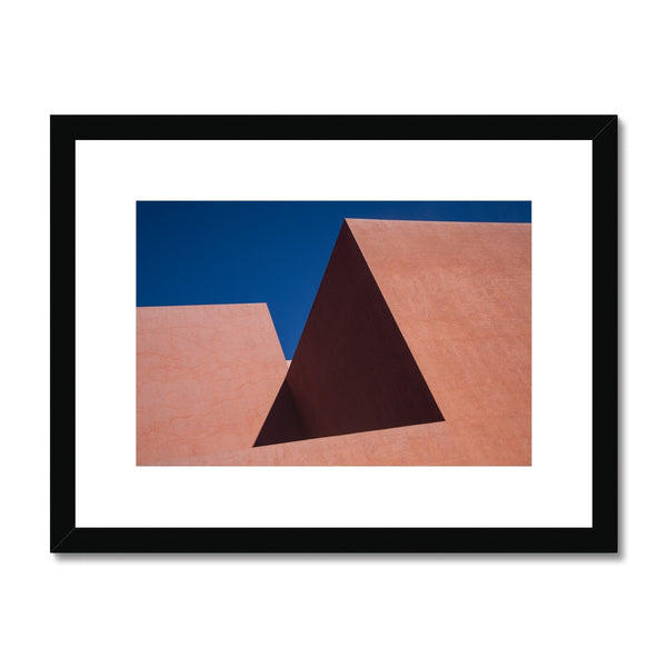 Santa Fe Adobe_2 Framed & Mounted Print