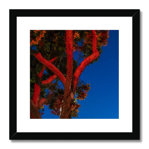 Traffic Light_3_Red Framed & Mounted Print