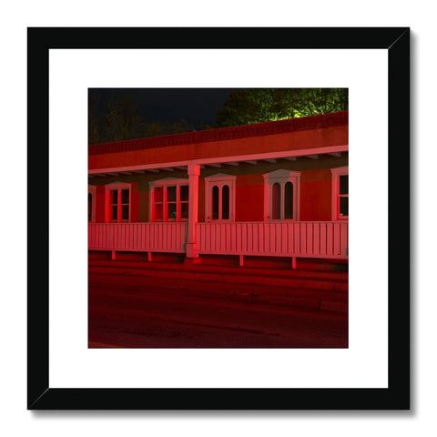 Traffic Light_2_Red Framed & Mounted Print