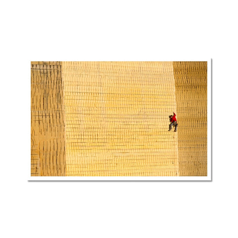 Corey Rich_Tommy Caldwell Photo Art Print