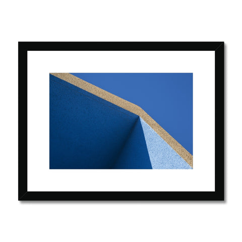 Santa Fe Adobe_9 Framed & Mounted Print