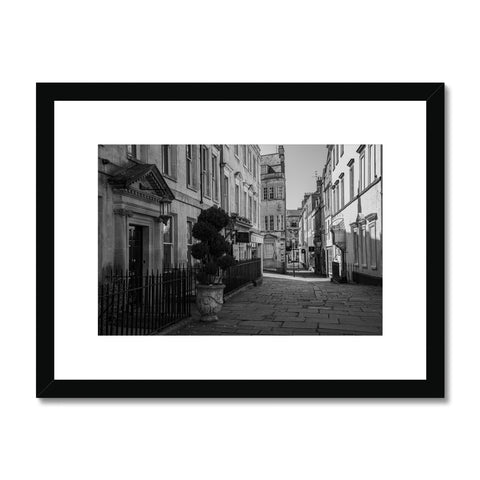 Bath Under Covid_2 Framed & Mounted Print