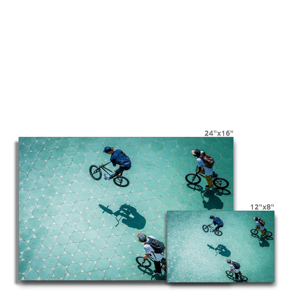 Olaf Pignataro - Bicycles Canvas