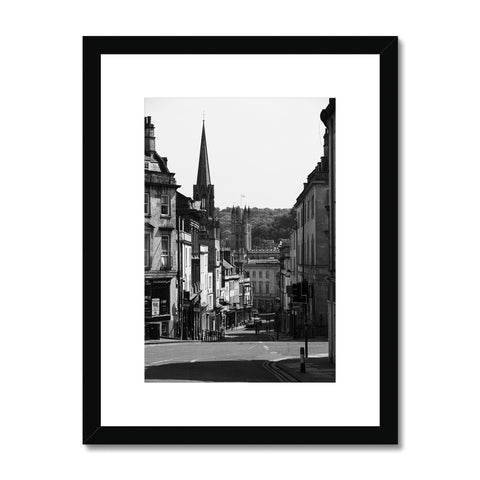 Bath Under Covid_3 Framed & Mounted Print