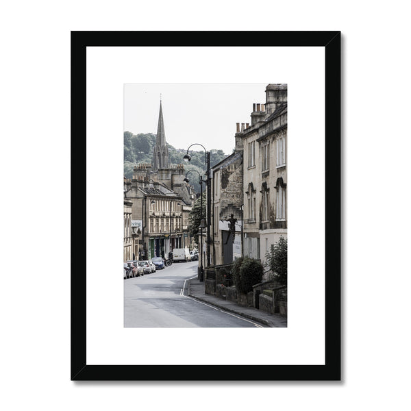 Bath Under Covid_12 Framed & Mounted Print