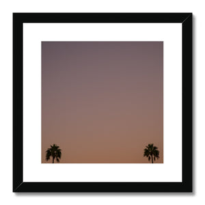 Los Angeles Palms_1 Framed & Mounted Print