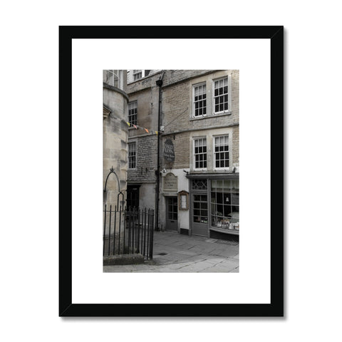 Bath Under Covid_8 Framed & Mounted Print