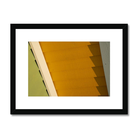 Swedish Beach Huts_8 Framed & Mounted Print