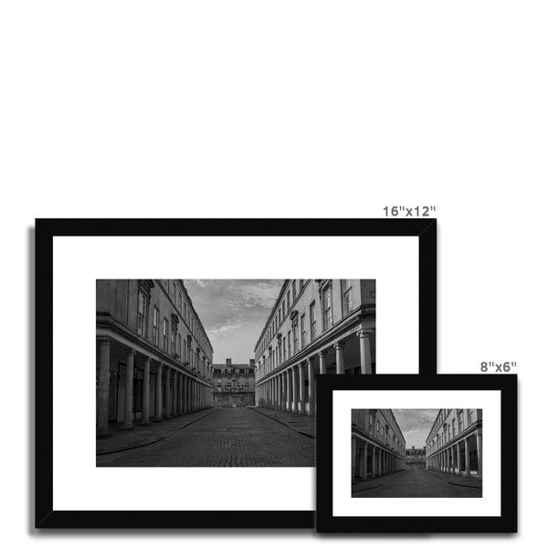 Bath Under Covid_1 (Framed & Mounted Print)