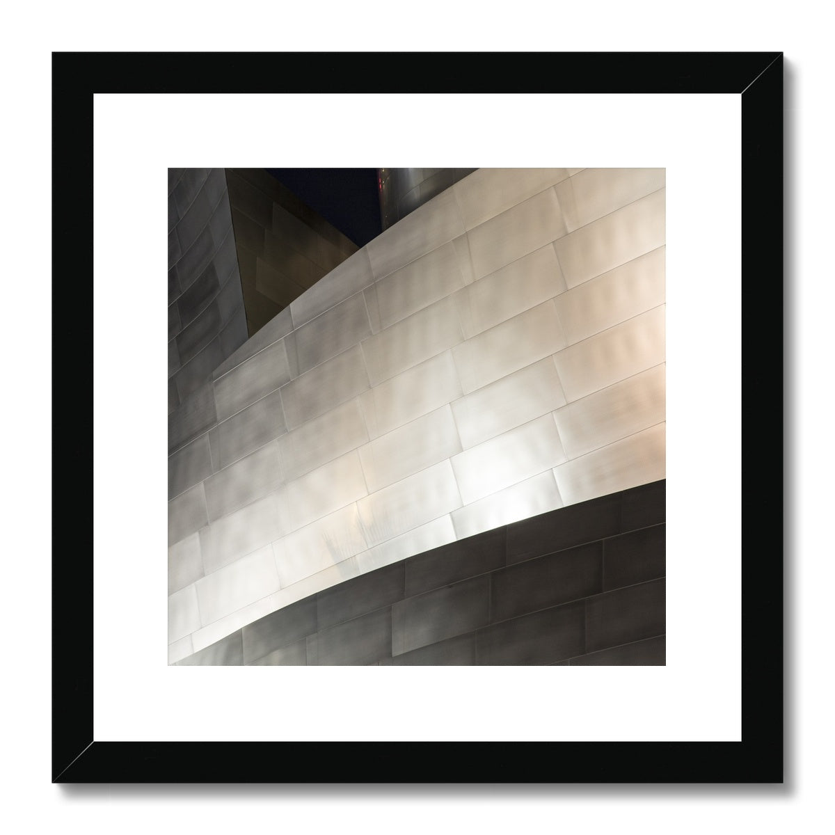 Disney Concert Hall_1 Framed & Mounted Print
