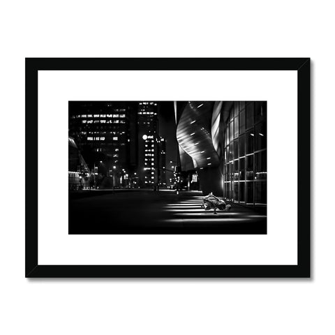 Carlo Cruz - Los Angeles Framed & Mounted Print