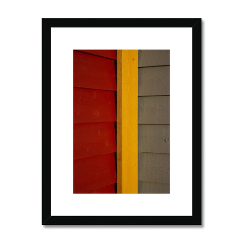 Swedish Beach Huts_6 Framed & Mounted Print