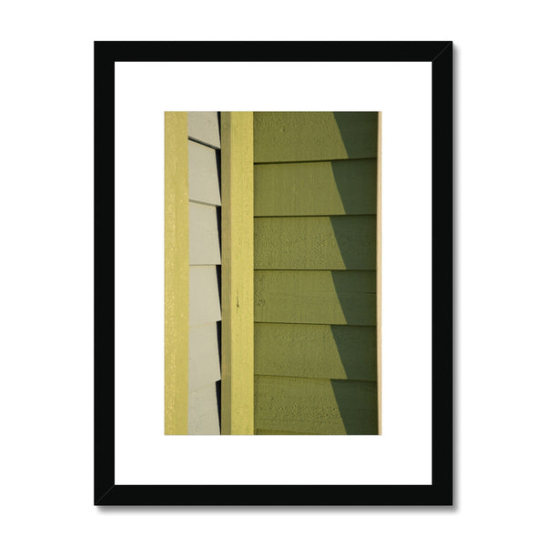 Swedish Beach Huts_5 Framed & Mounted Print