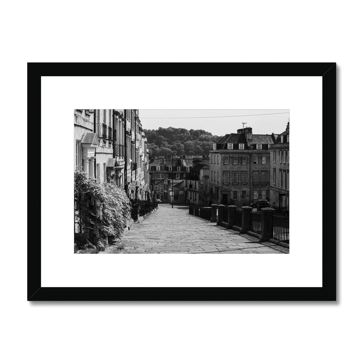 Bath Under Covid_5 Framed & Mounted Print