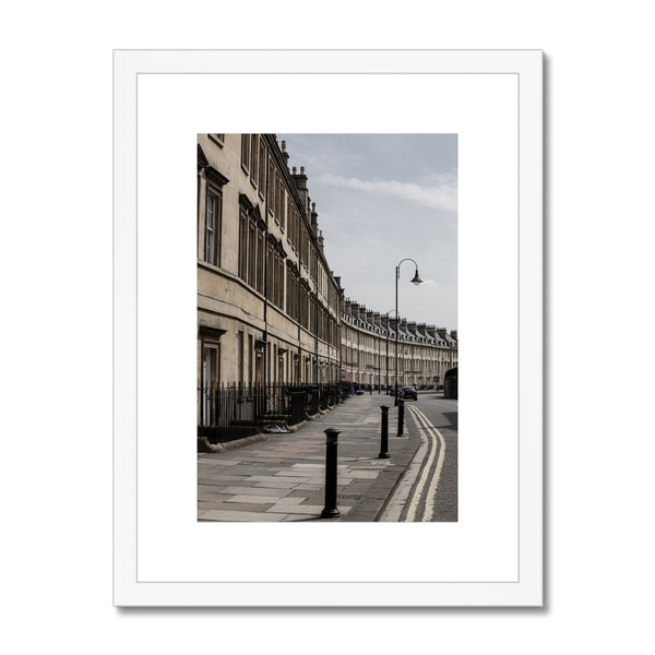 Bath Under Covid_11 Framed & Mounted Print