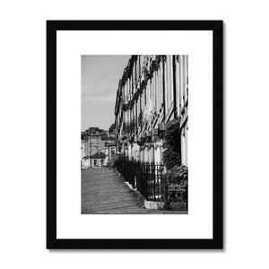 Bath Under Covid_4 Framed & Mounted Print