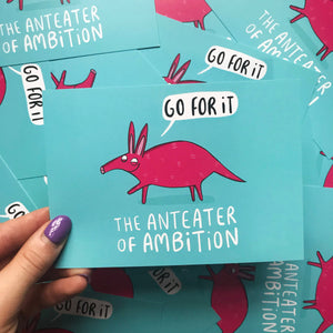 Anteater of Ambition Postcard