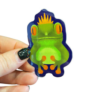 Froggie Sticker
