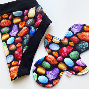 Super Comfy Undies - Small Gemstones
