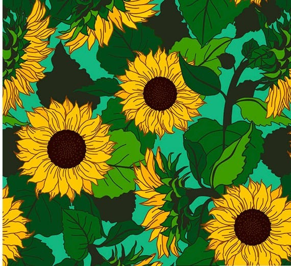 Cloth Pad - Sunflowers