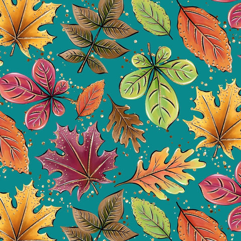 Cloth Pad - Autumn Leaves