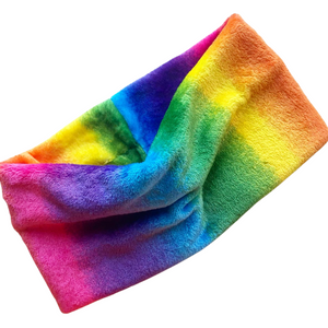 Fluffy Rainbow Snood (Adult, Teen & Child)