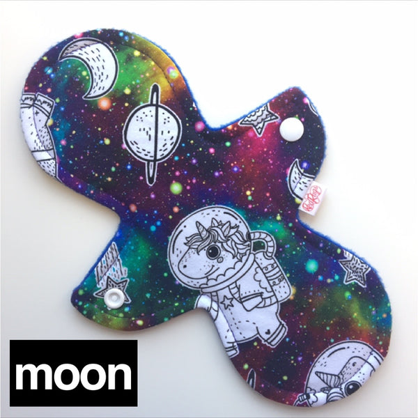 Cloth Pad - Mystic Waves MINKY