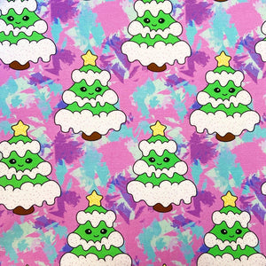 Cloth Pad - Pastel Trees