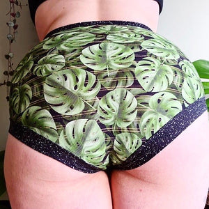 Super Comfy Undies - Monstera