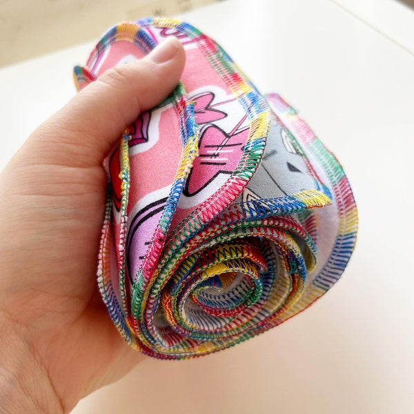 Reusable Wipes - Small  (Perfect Size for Reusable Toilet Paper)