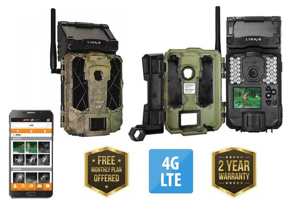 Spypoint Link-S LTE 4G Cellular Trail Camera