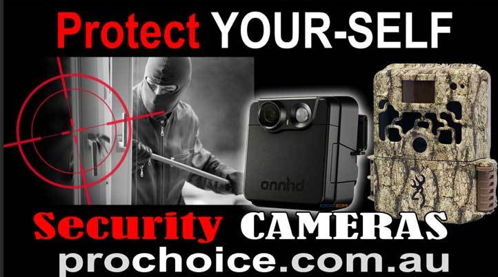Using Trail Cameras for Your Home Security