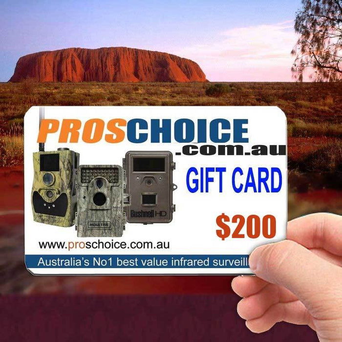 Gift Voucher $200- ProsChoice Accessories vendor-unknown