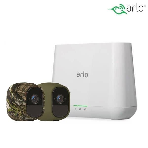 Arlo Pro 2 Wire-Free Live View Surveillance Home Security system 2-Cameras pack Trail Cameras vendor-unknown