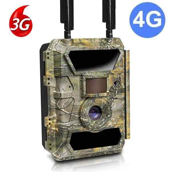 Bravo X 4G Wide 100 Degree Two-Way Comm 3G/4G/LTE Trail Camera Security Cam vendor-unknown