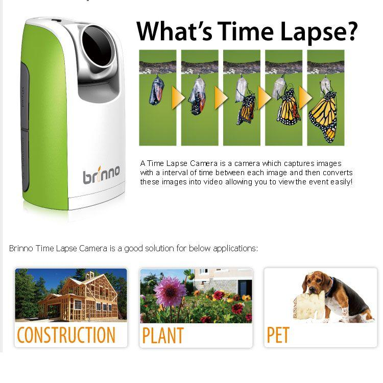 Brinno Time Lapse Camera TLC200 with LCD view finder