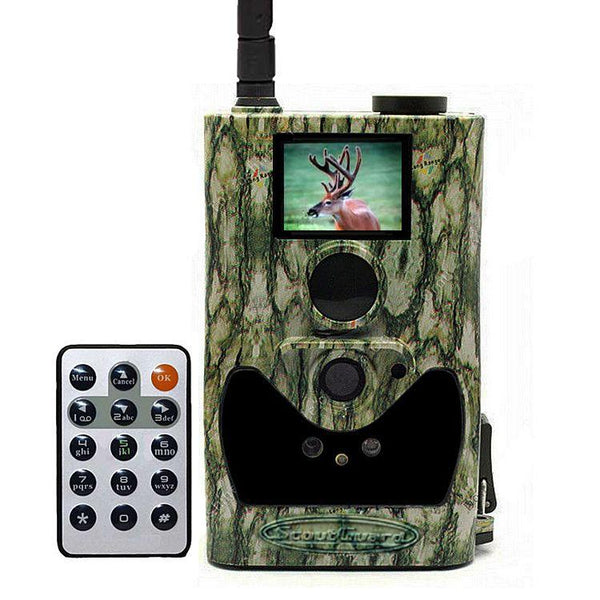 ScoutGuard SG880MK-12mHD SMS GPRS mobile Black IR MMS Trail Camera Wildlife Cam vendor-unknown