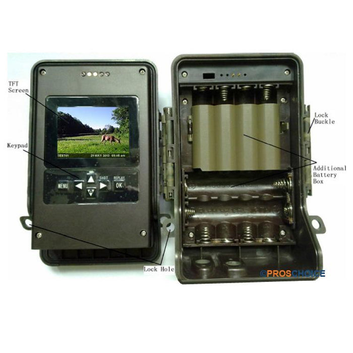 Ltl Acorn Ltl-6511Wmc Full HD 100 degree Lens Zero Glow Trail camera Wildlife Cam vendor-unknown