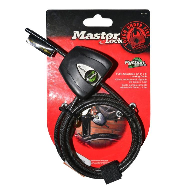 Master Lock Python Adjustable Locking Cable for Trail cameras Accessories vendor-unknown