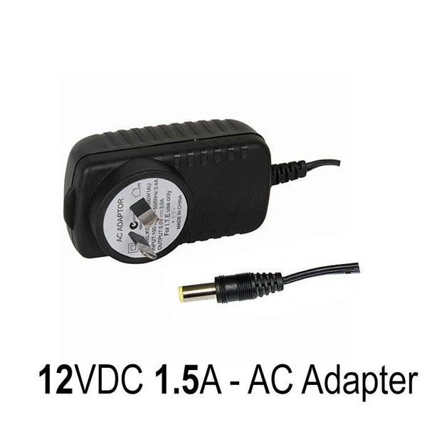 AC Adapter 12VDC 1.5A Adaptor for Moultrie Browning Bushnell Trail camera Accessories vendor-unknown