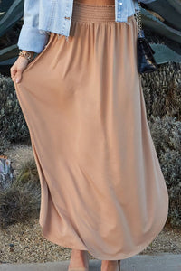 Dreamy Skirt - Camel
