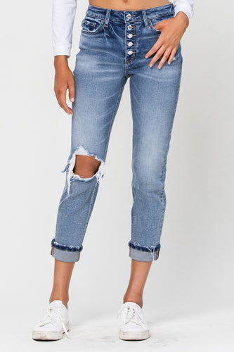 Brookie Cropped Jeans