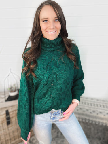 Sweetest Thing Sweater - Green